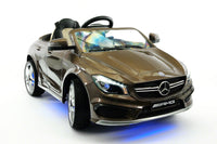 Moderno Kids Mercedes CLA45 AMG 12V Kids Ride-On Car with Parental Remote | Cocoa Brown Metallic