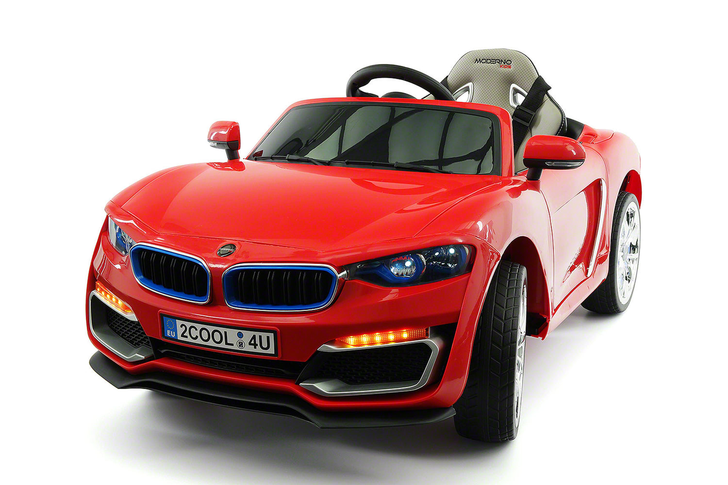 cool racer 12v electric kids ride on car with rc parental remote red