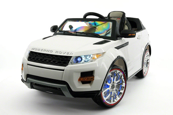 Kids Ride On Cars: Moderno Rover 12V Kids Ride-On Car With R/C Parental
