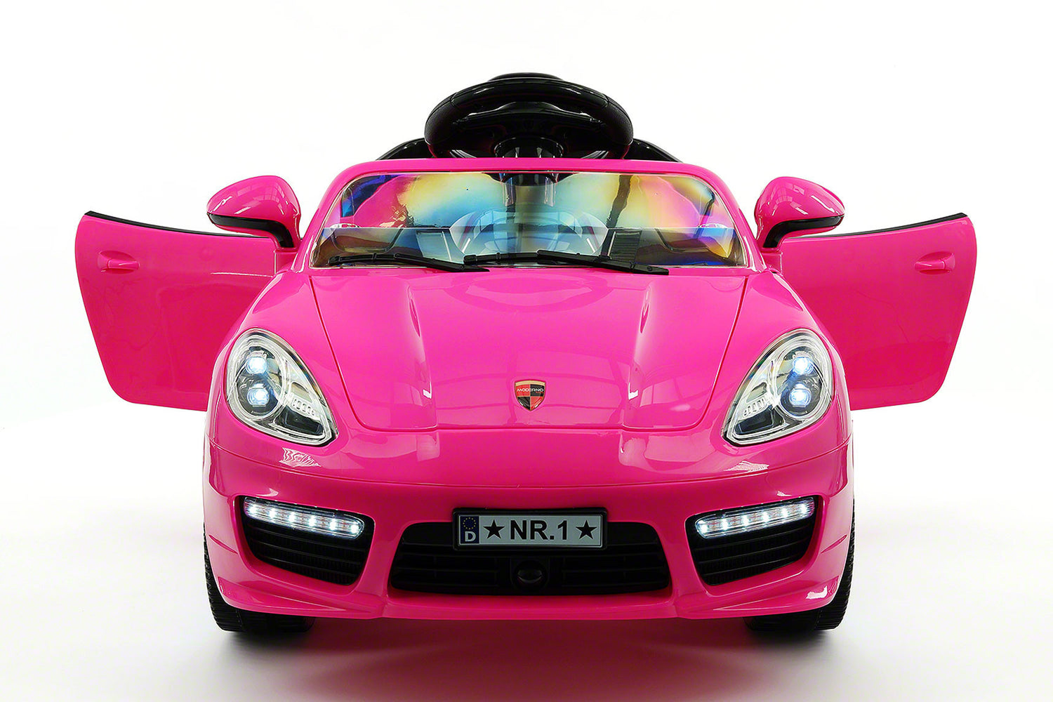 kiddie roadster 12v kids electric ride on car with rc parental remote essential edition pink