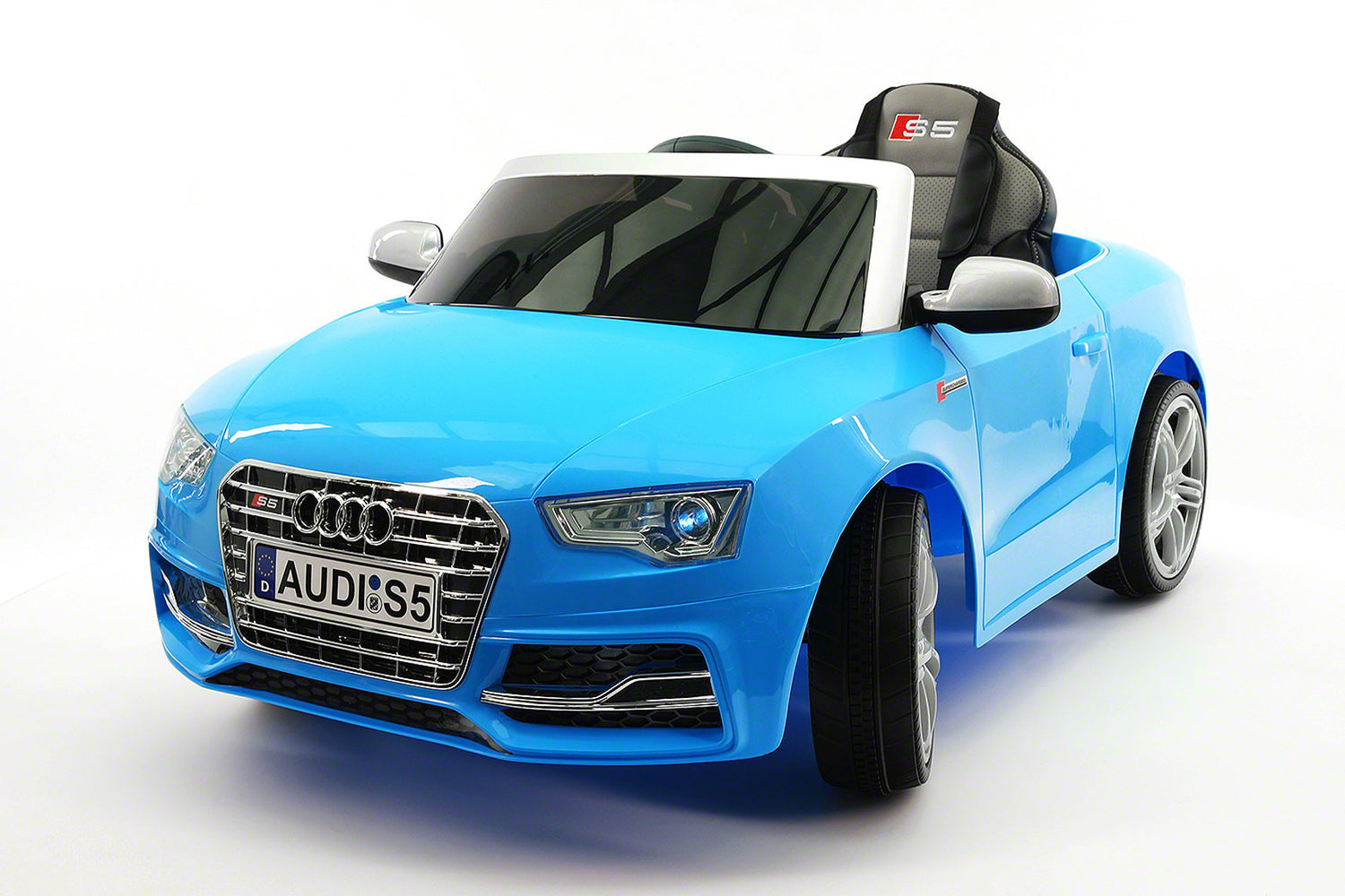 audi s5 sport 12v electric kids ride on car with parental remote blue