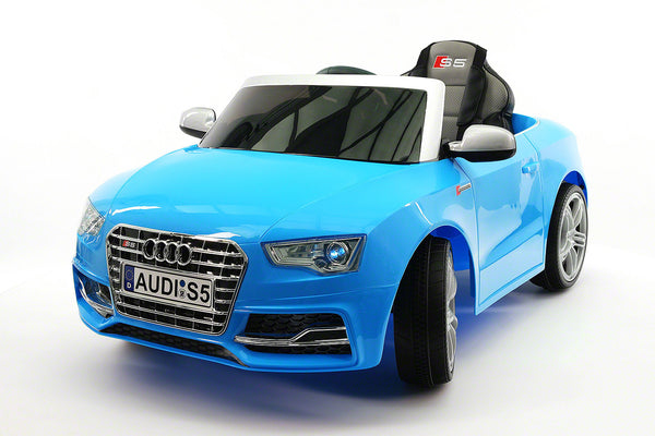 Moderno Kids Audi S5 Sport 12V Electric Kids Ride-On Car with Parental Remote | Blue