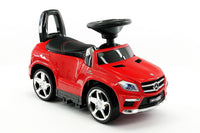 Moderno Kids Mercedes GL63 Kids Convertible Ride On Push and Foot to Floor Car | Red