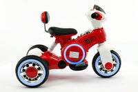 Moderno Kids VIP 12V Electric Kids Ride On Tricycle with LED Wheels and MP3 Player | Red
