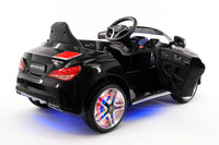Moderno Kids Mercedes CLA45 Sport 12V Kids Ride-On Car with R/C Parental Remote | Black