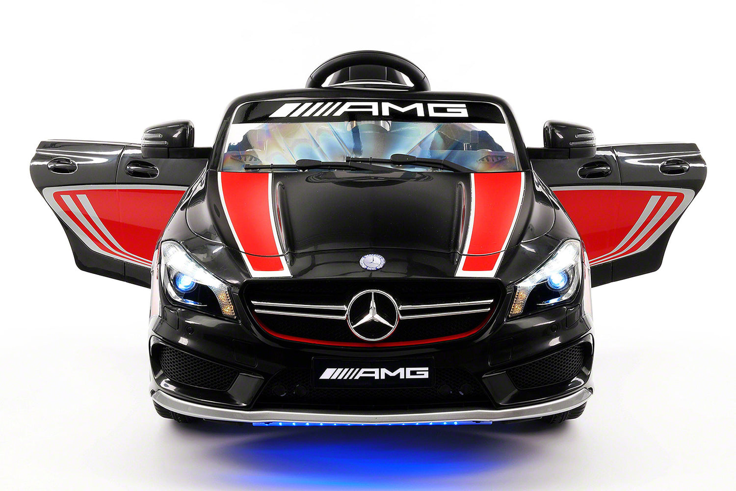 Mercedes CLA45 Sport 12V Kids Ride On Car With R/C Parental Remote | Black