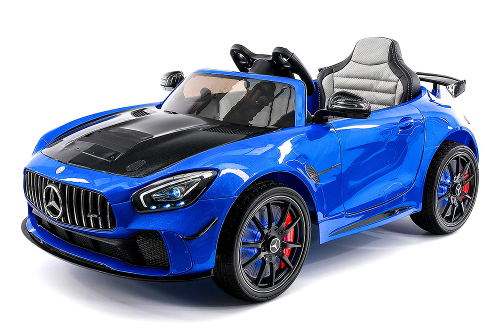 Moderno Kids Mercedes GT AMG 12V Kids Ride-On Car with Parental Remote | Blue