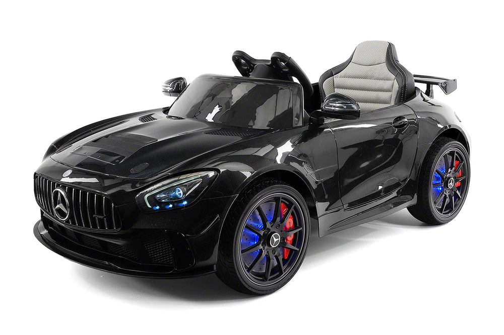 Moderno Kids Mercedes GT AMG 12V Kids Ride-On Car with Parental Remote | Black