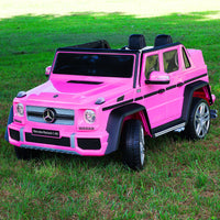 Moderno Kids Mercedes Maybach G650 12V Kids Ride-On Car with Parental Remote | Pink