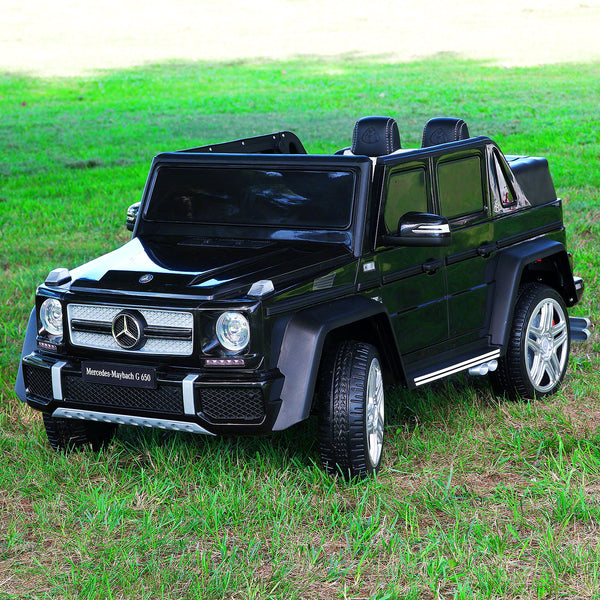 Moderno Kids Mercedes Maybach G650 12V Kids Ride-On Car with Parental Remote | Black
