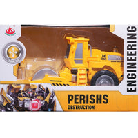 Moderno Kids Battery Operated Perish Destruction Engineering Road Roller RC Vehicle