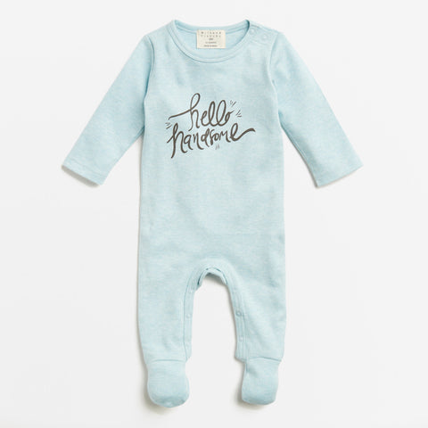 Wilson & Frenchy Hello Handsome Growsuit Romper