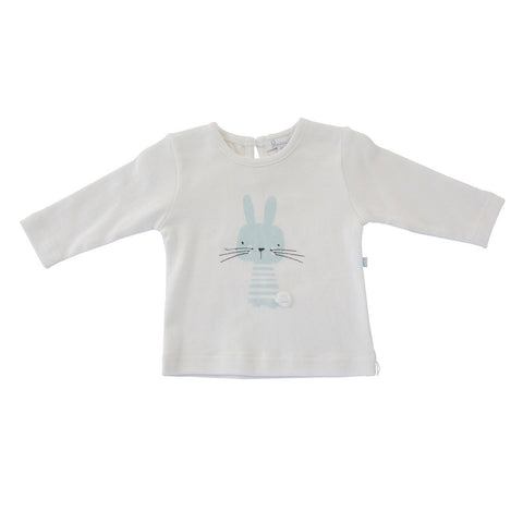 Plum Blue Bunny Long Sleeved Top