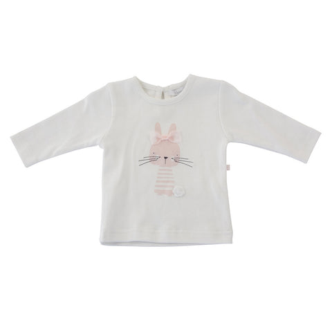 Plum Pink Bunny Long Sleeved Top