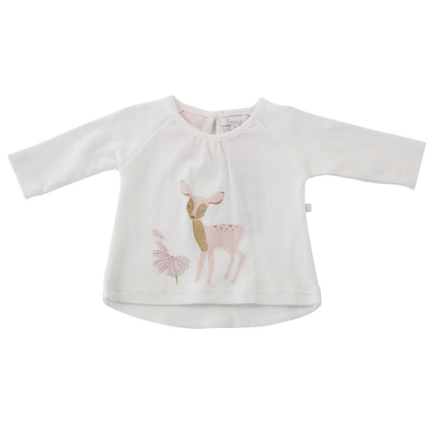 Plum Deer Long Sleeve Top