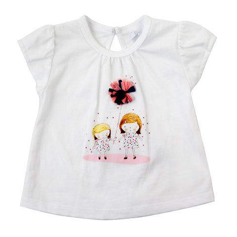 Plum Baby Girl Summer T-shirt