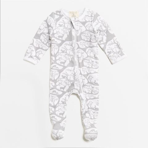 Wilson & Frenchy Forest Frolic Zipsuit Romper
