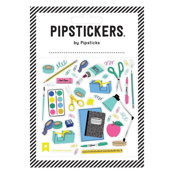 Back To School Supplies PipStickers