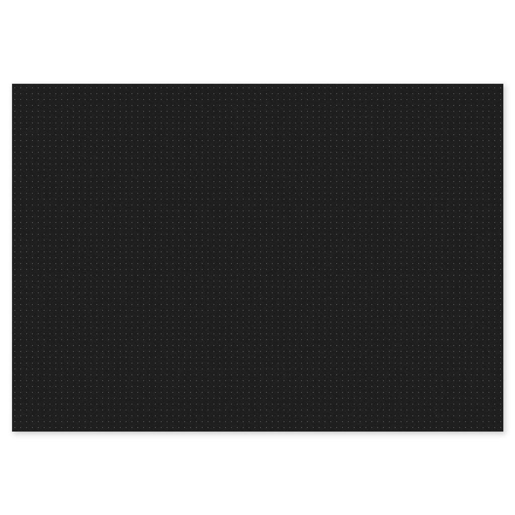 A3 Dot Grid Deskpad - Black
