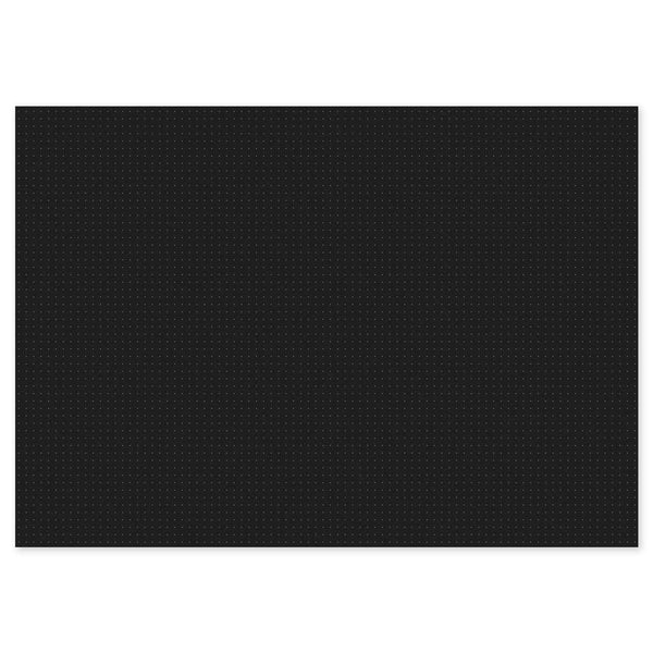 A3 Dot Grid Pad - Black
