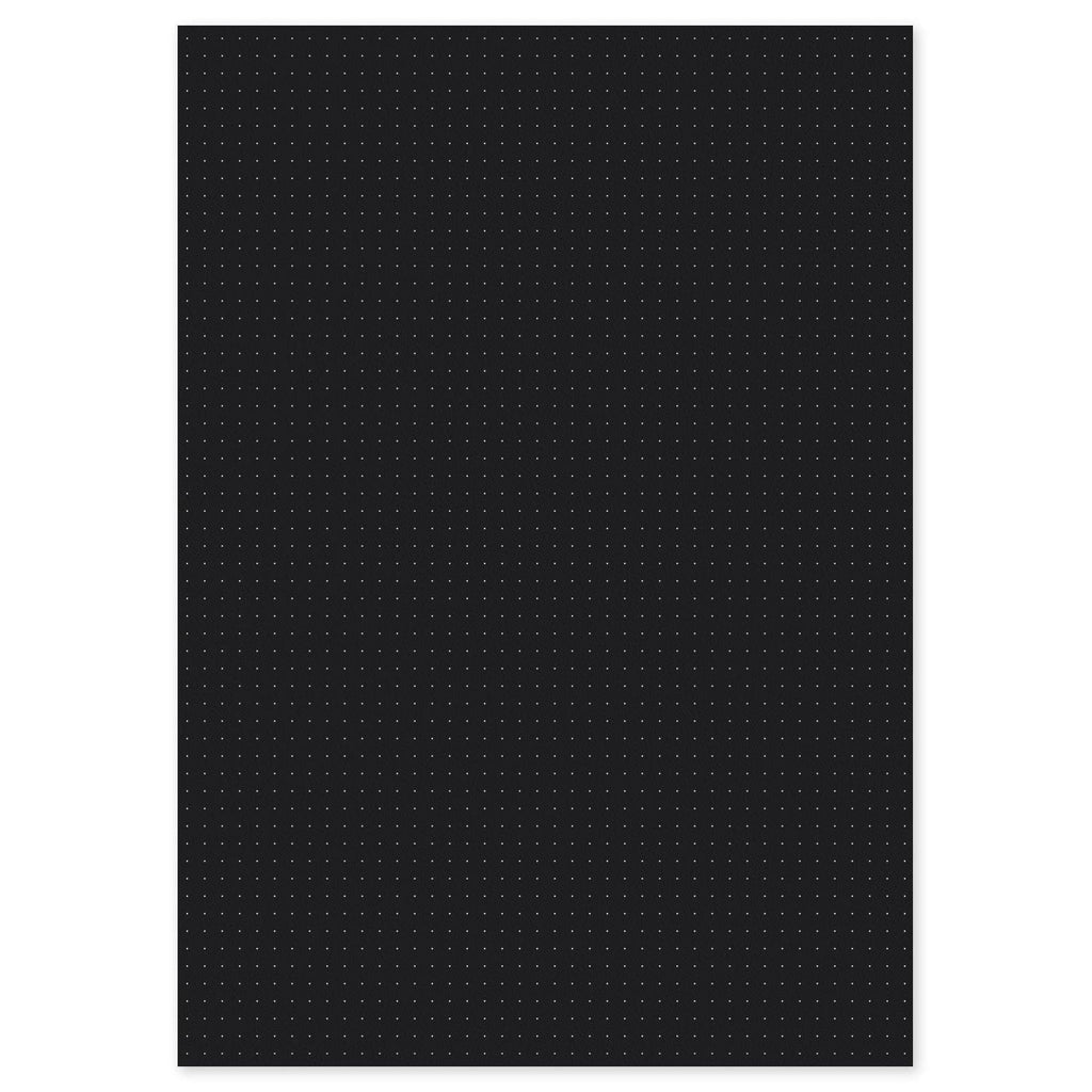 Black Dot Grid Loose-Leaf Paper A3/A4/A5/A6