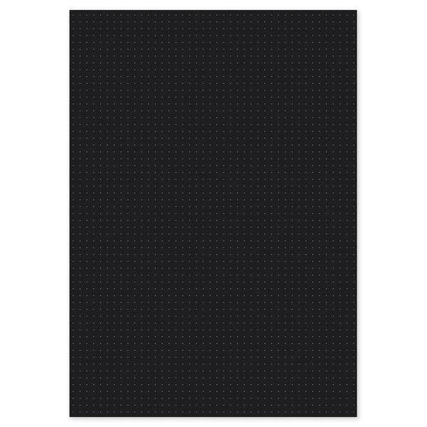 Black Dot Grid Paper A3/A4/A5/A6