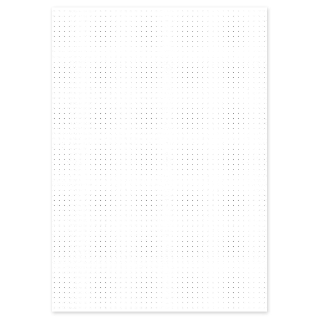 White Dot Grid Paper A3/A4/A5/A6