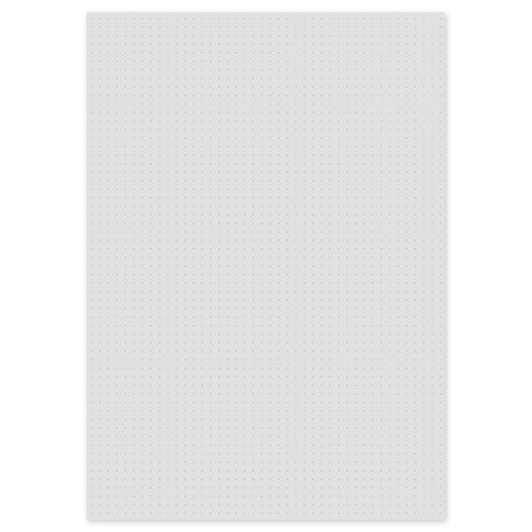 Grey Dot Grid Loose-Leaf Paper A3/A4/A5/A6