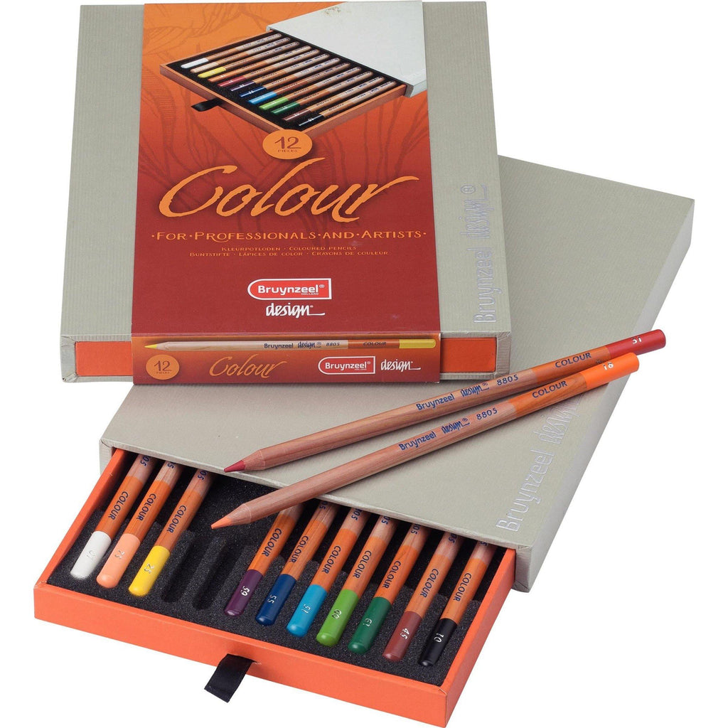Bruynzeel Colour Pencils - 12 Pack