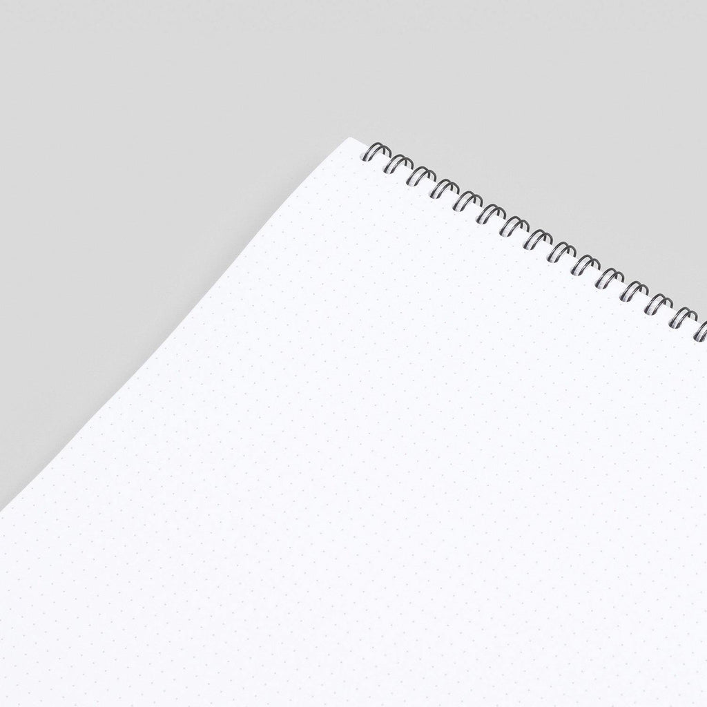 A3 Dot Grid Notebook - White Pages