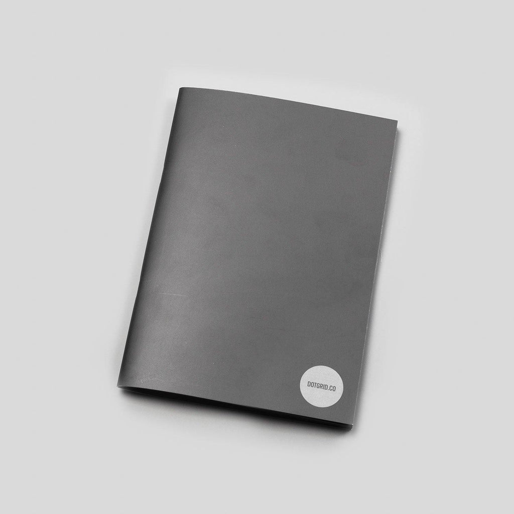 A5 Dot Grid Notepad - Black Pages