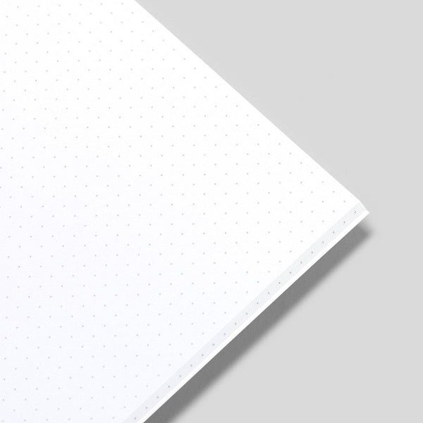 A5 Dot Grid Notepad - White Pages