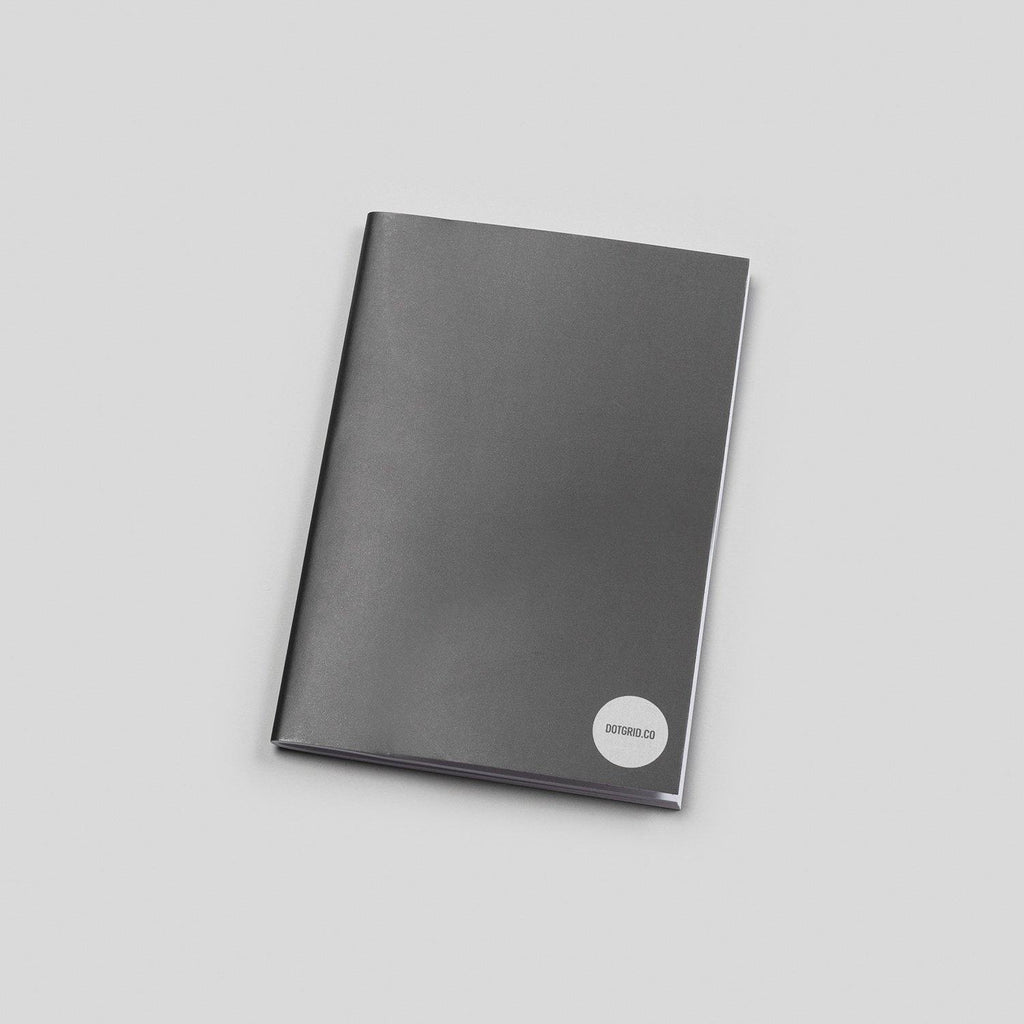 A6 Dot Grid Notepad - White Pages