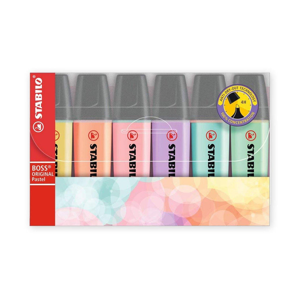Stabilo Boss Original - Pastel, 6 Pack