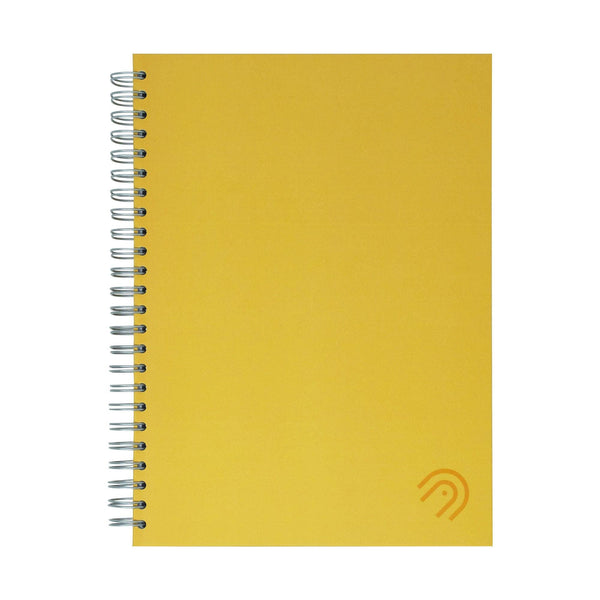 Hard Cover A5 Dot Grid Notebook - Sunshine Yellow