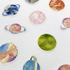 Solar System Watercolour Stickers - 45 Stickers