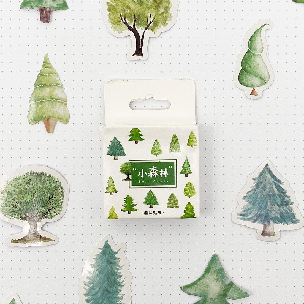 Tree Stickers - 45 Stickers
