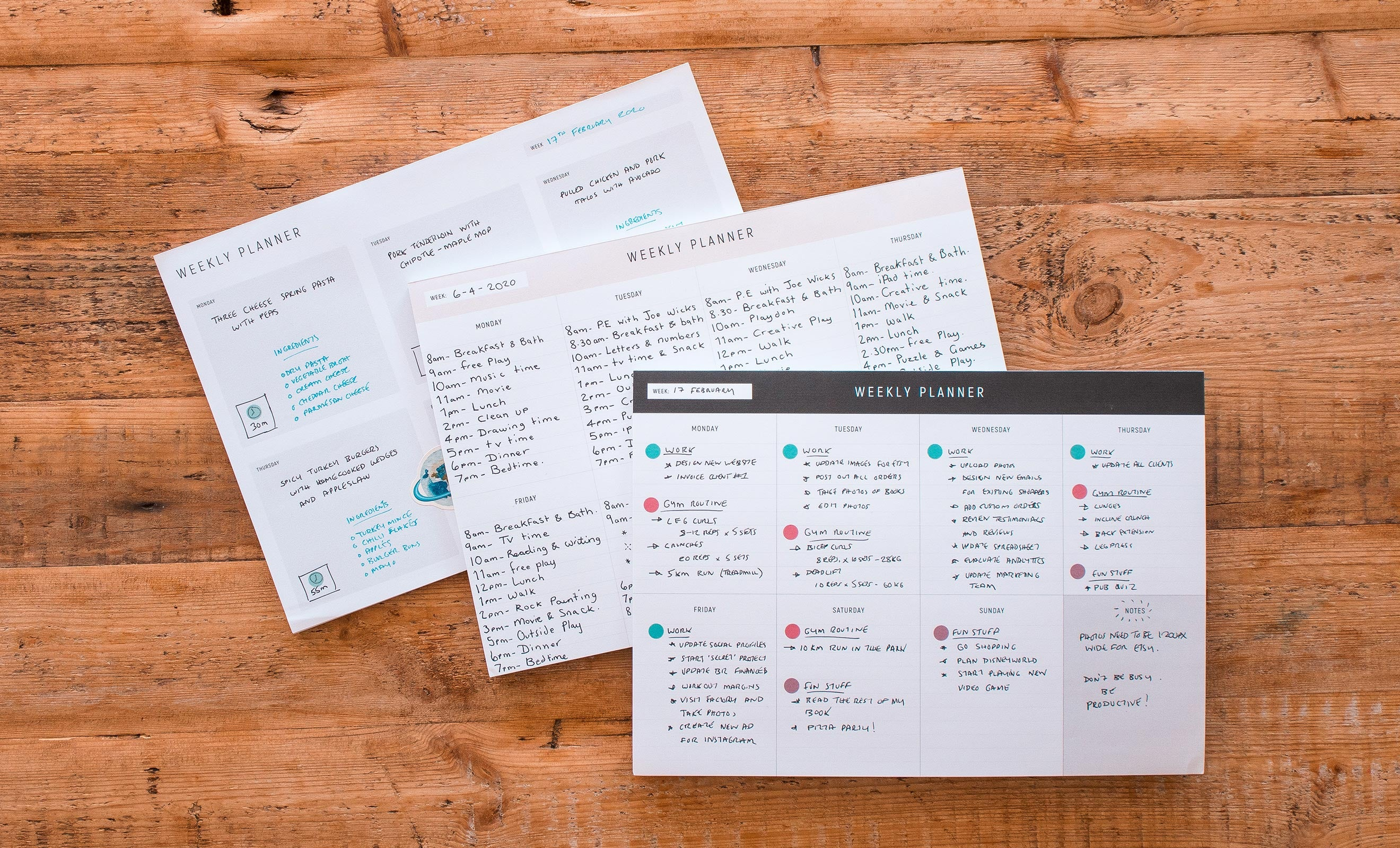 Uses for our Dot Grid Planner Pads