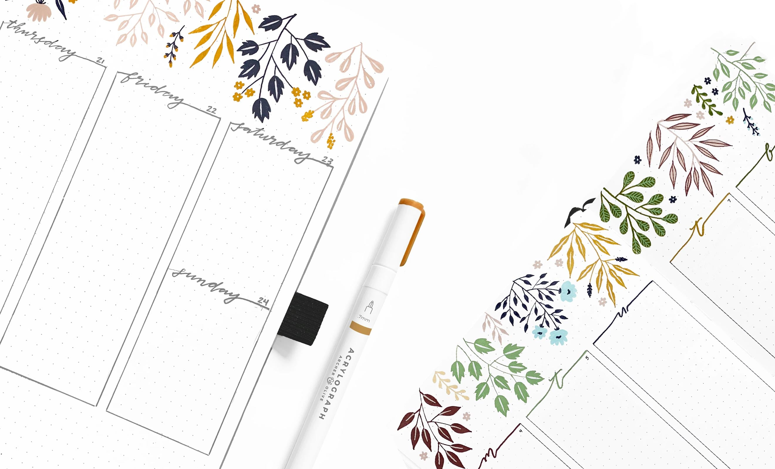 The perfect companion for your dot grid notebook.