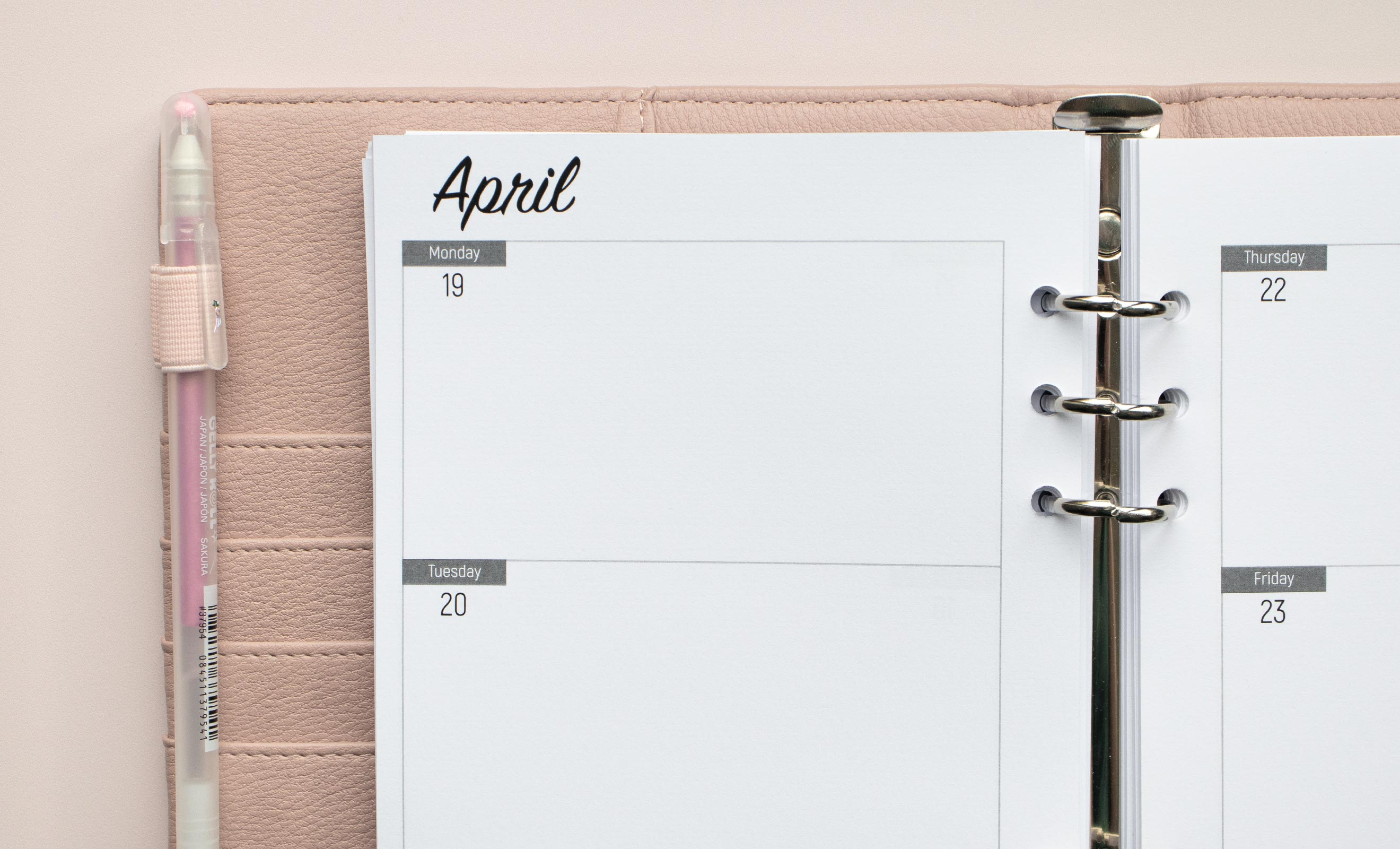 Your organiser, your way
