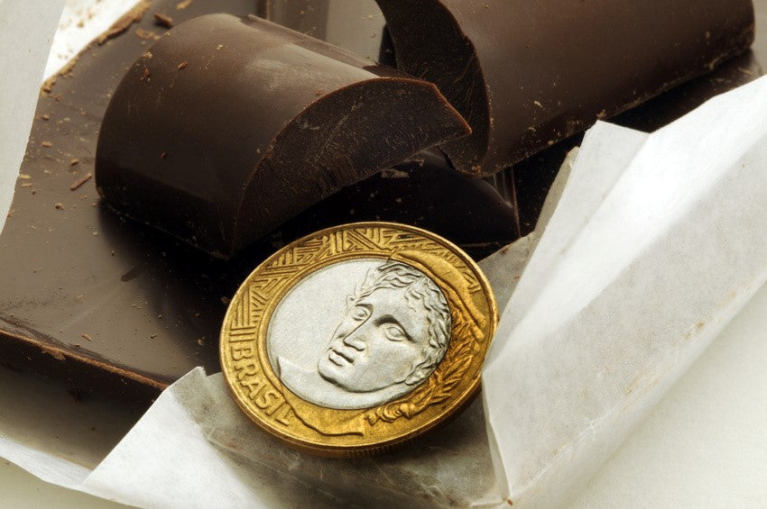 Chocolate as currency