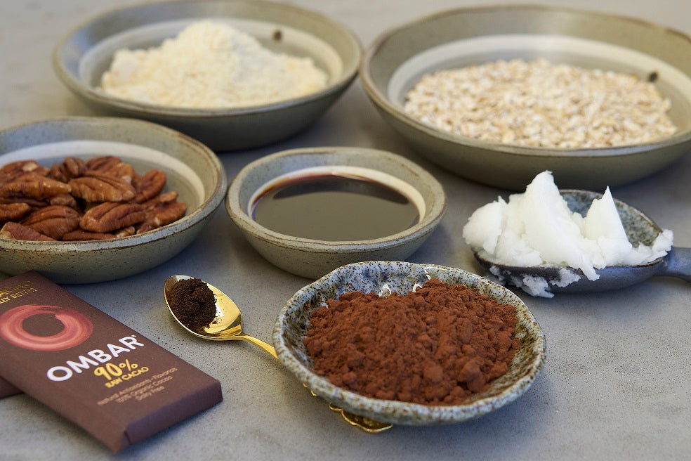 Ingredients for Indulgent Chocolate Truffles by Bettina Campolucci-Bordi
