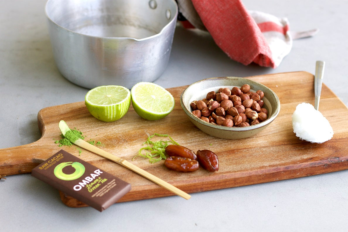 Pistachio Crusted Zesty Chocolate Tart Ingredients