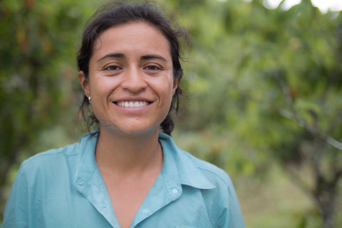 Paola, our cacao supply chain manager