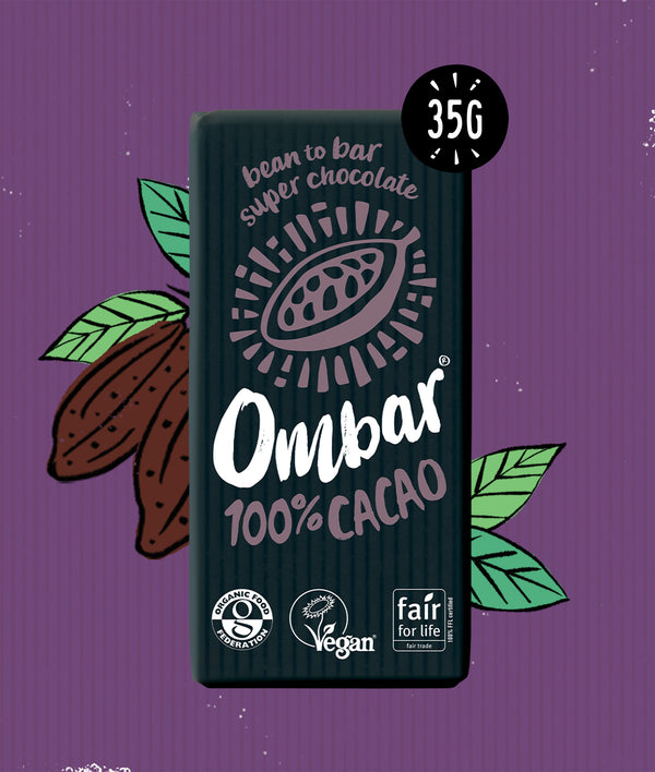 100% Cacao (35g) case of 10'