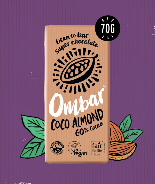 Coco Almond (70g) case of 10'