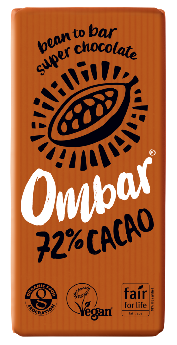 72% Cacao (70g) case of 10