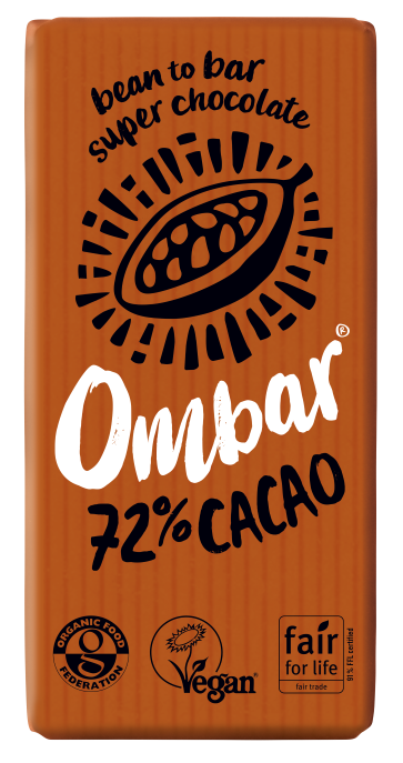 72% Cacao (35g) case of 10