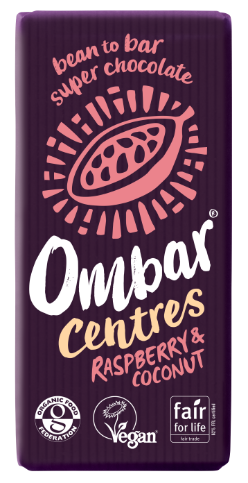 Centres Raspberry & Coconut (70g) case of 10