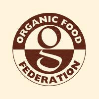 We're Certified Organic